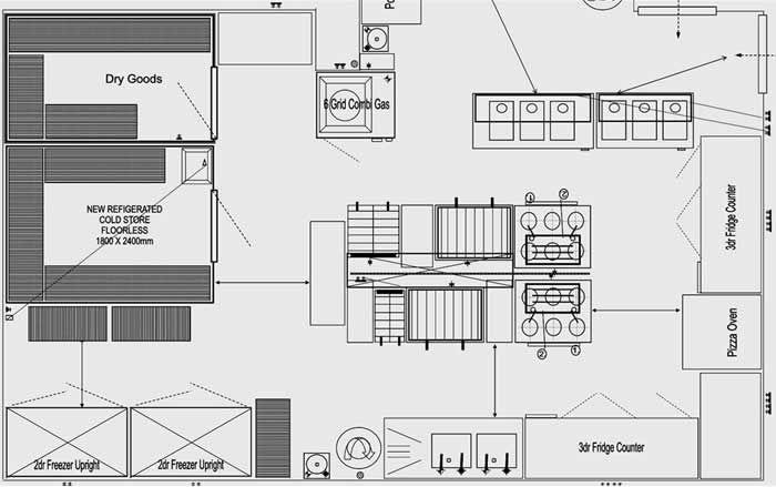 image024.jpg 700×439 pixels   catering kitchen   Pinterest ...