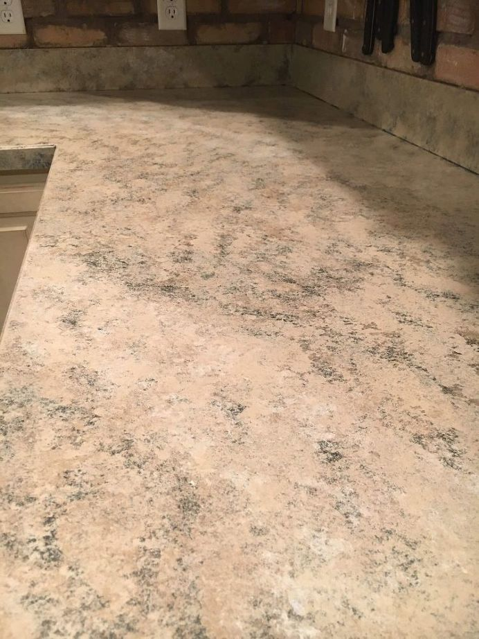 Painted Countertops From Laminate To Granite Painting