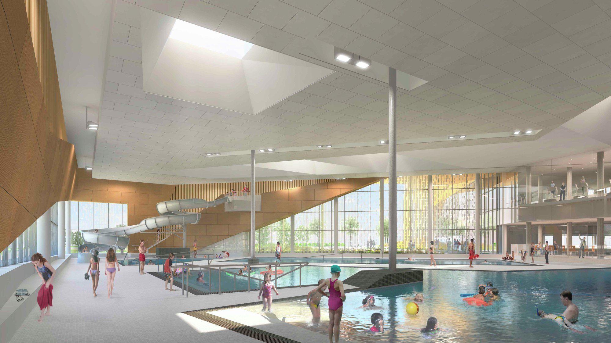 Gallery Of Edmonton Eskimos Field House And Muliti Use Recreation Complex Maclennan Jaunkalns