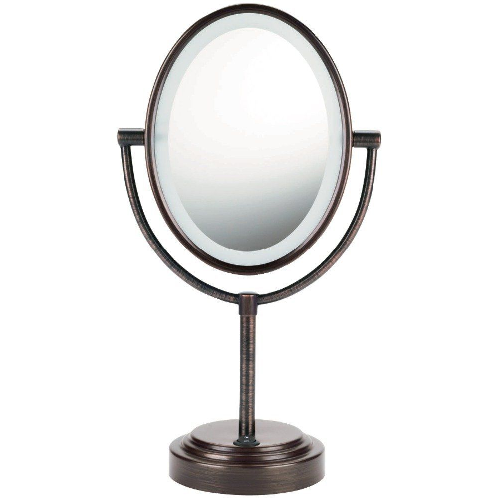 Conair Oval Double-Sided Lighted Mirror – Oiled-Bronze Finish - See more at: http://beauty.florentt.com/beauty/conair-oval-doublesided-lighted-mirror-oiledbronze-finish-com/#sthash.KvtraQix.dpuf