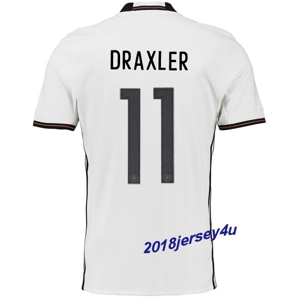 81836f95b Julian Draxler 11 UEFA Euro 2016 Germany Home Jersey
