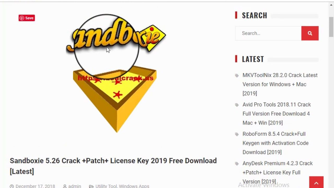 Sandboxie 5 26 Crack +Patch+ License Key 2019 Free Download
