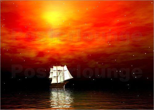 Segelboot - LessaKs Art