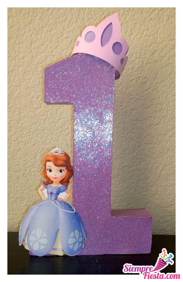 Ideas para fiesta de cumpleaños de la Princesita Sofía. Encuentra ...