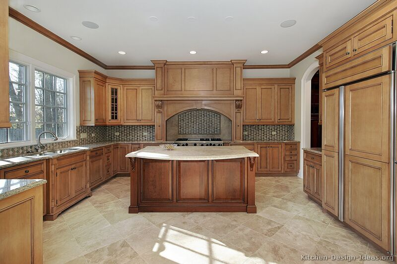 Kitchen Design Ideas For Medium Kitchens like the style of this island traditional-two-tone-080-s27719161