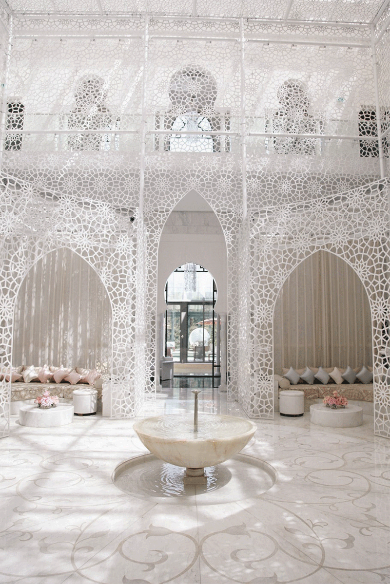 Royal Mansour Hotel And Spa Marrakech Morrocco