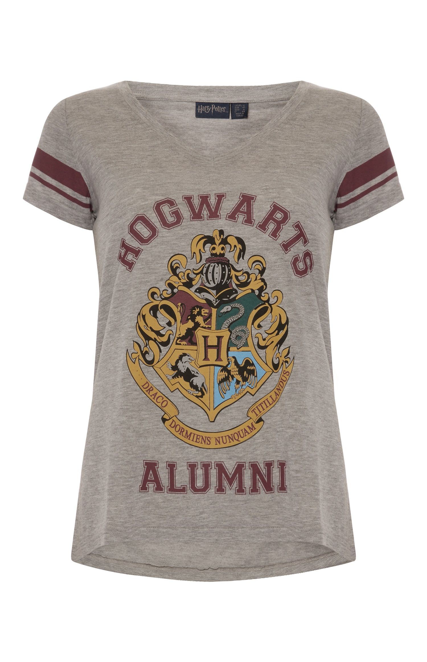 5e8c02df Primark - Grey Harry Potter V Neck T-Shirt | Geek clothes | Harry ...