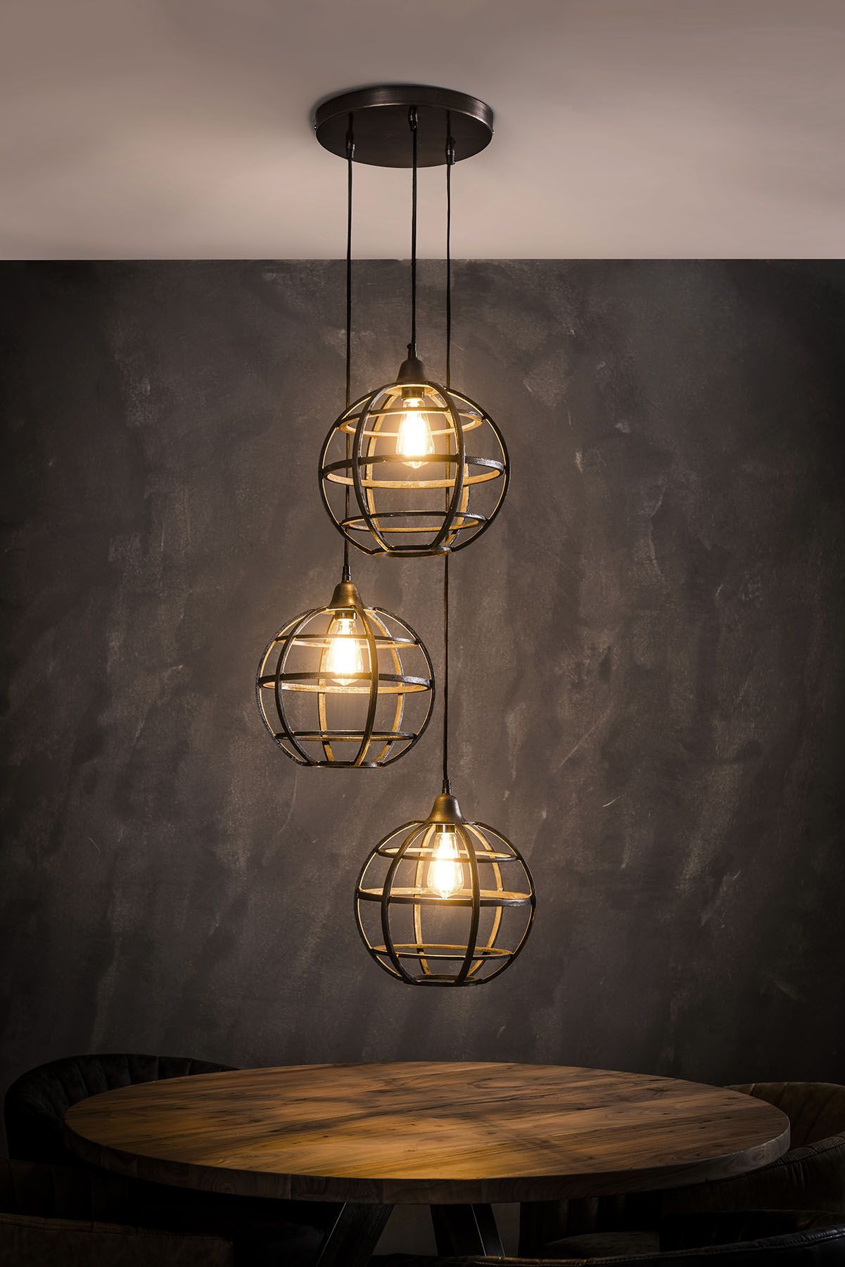 Hangelampe Globus Lampen Retro Tischlampen Esszimmer Kronleuchter