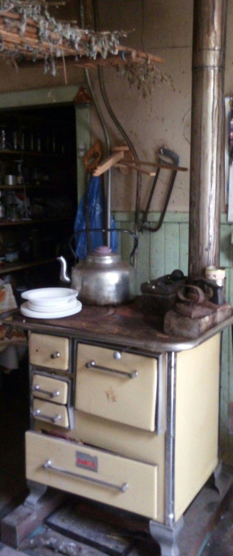 Cocina a le a en cayurruca regi n de los rios chile for Cocinas economicas a gas
