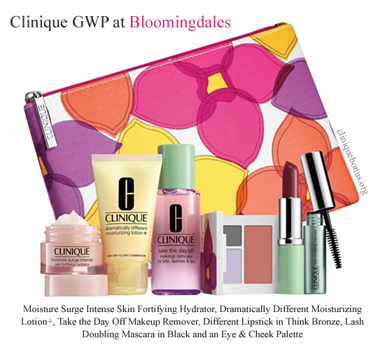Pin by Gift with Purchase on Clinique Bonus Time