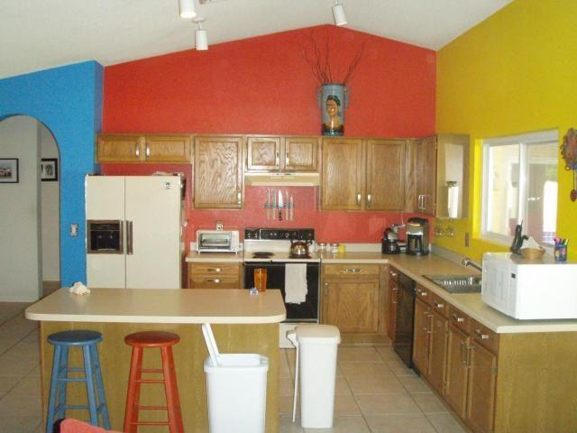 crazy kitchen blue kitchen paintkitchen colorsstone - Kitchen Color Paint Ideas