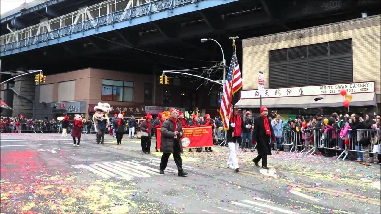 NYC Chinatown Lunar New Year Parade 02022014 (720 HD
