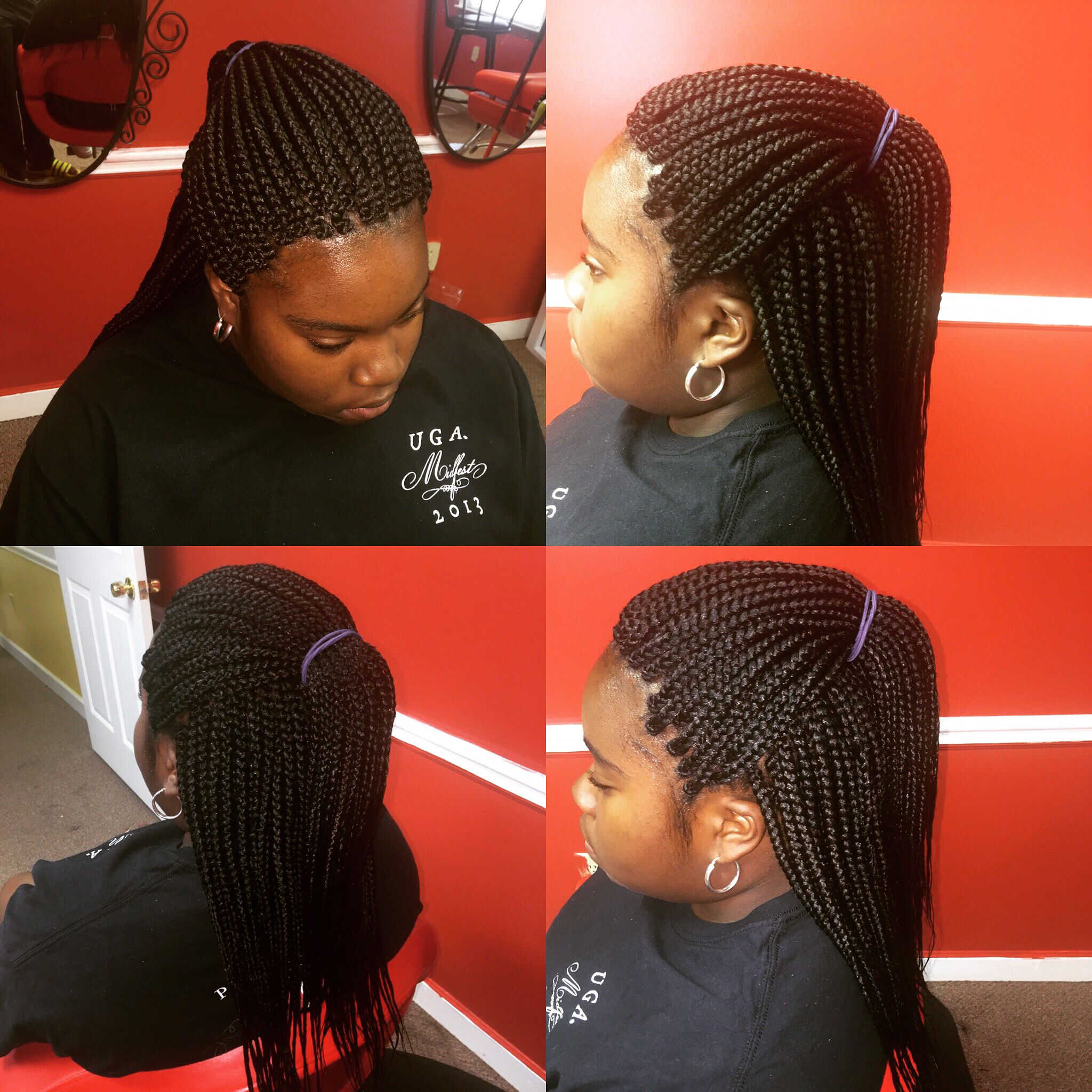 individual braids done by sl african hair braiding the best