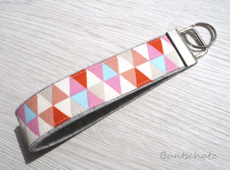 Schlüsselanhänger - Geschenk Weihnachten Freundin - ein Designerstück von Buntschatz bei DaWanda