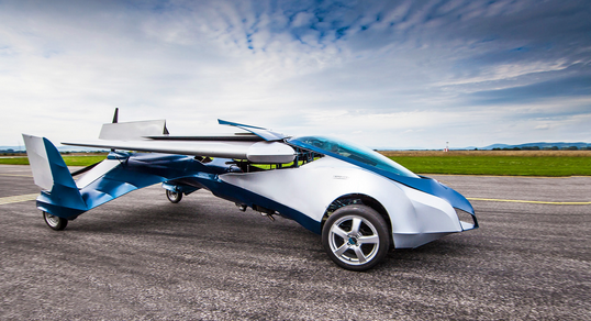 Introducing The Aeromobil - The Worlds First Flying Car!!! You have to see this. Hit the image to watch... #WOW