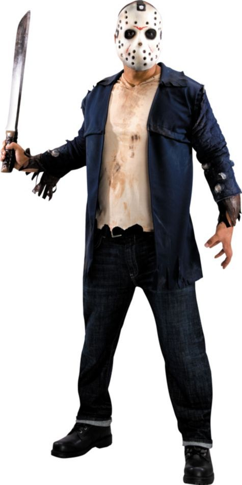 deluxe jason costume for adults party city