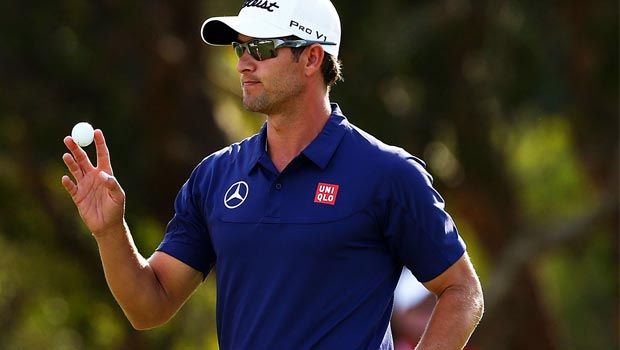 Adam Scott's remarkable season continued as he fired a course record 62 in the first round of the Australian Open in Sydney.  #golf #dafasports