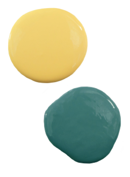 yellow and teal paint colors i bought these colors yesterday lowes