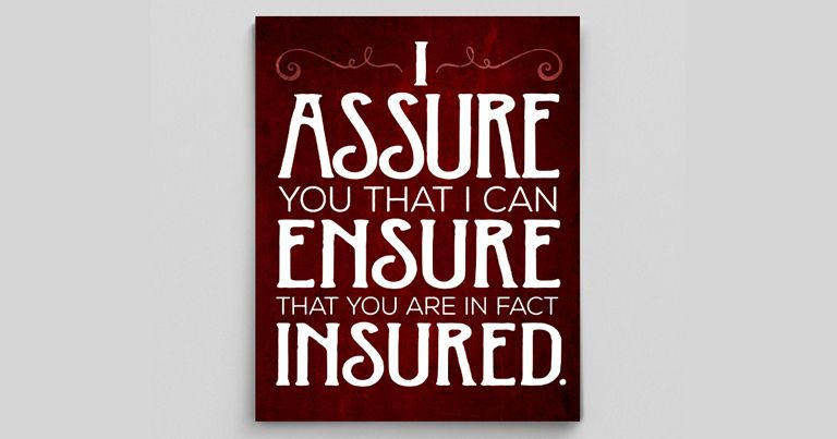 Ensure Vs Insure Vs Assure Difference And Examples With Images