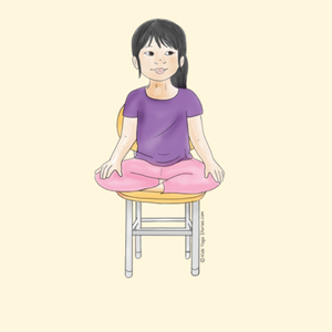 40 kidfriendly chair yoga poses with images  chair
