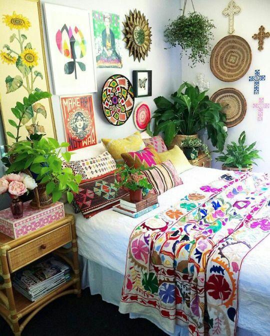 Decoracion bohemia decoraci n bohemia pinterest - Decoracion hippie habitacion ...
