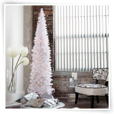 Winter Park Pre-lit Pencil Christmas Tree CHRISTmas Pinterest