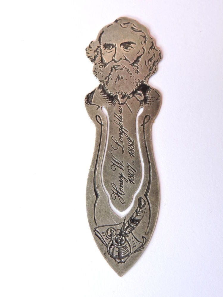 Antique-Toye Kenning & Spencer-Solid Silver Bookmark-Henry W