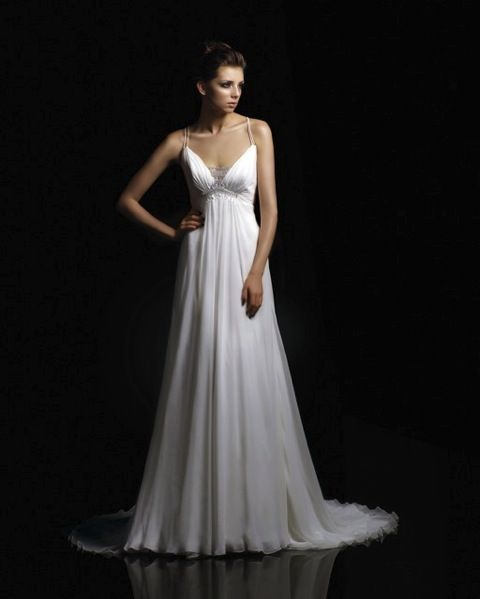 flowing wedding dresses | Wedding Illinois | Pinterest | The o ...