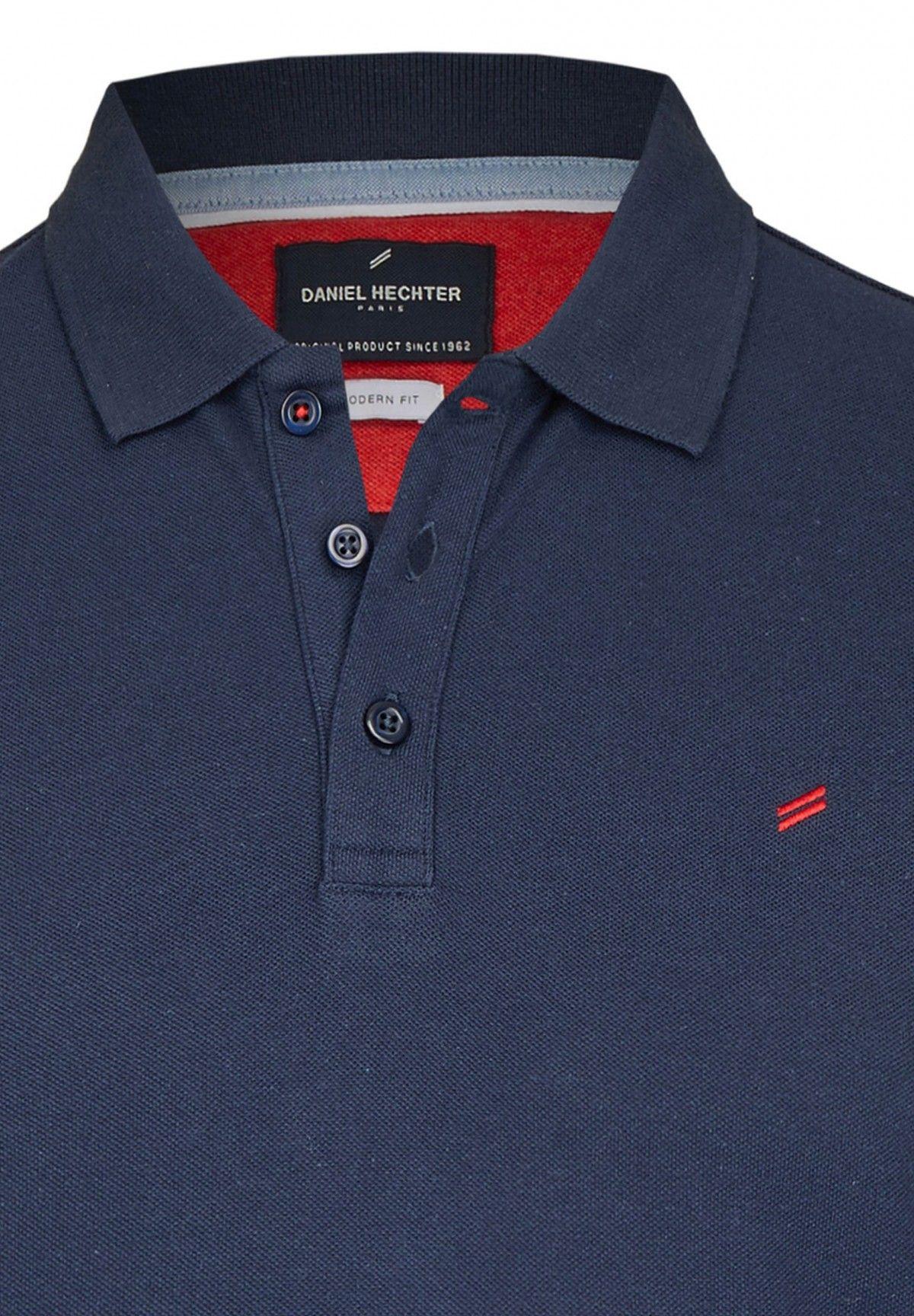 promo code 159da 58f19 Basic Polo in Modern Fit Passform, dark blue | Daniel ...