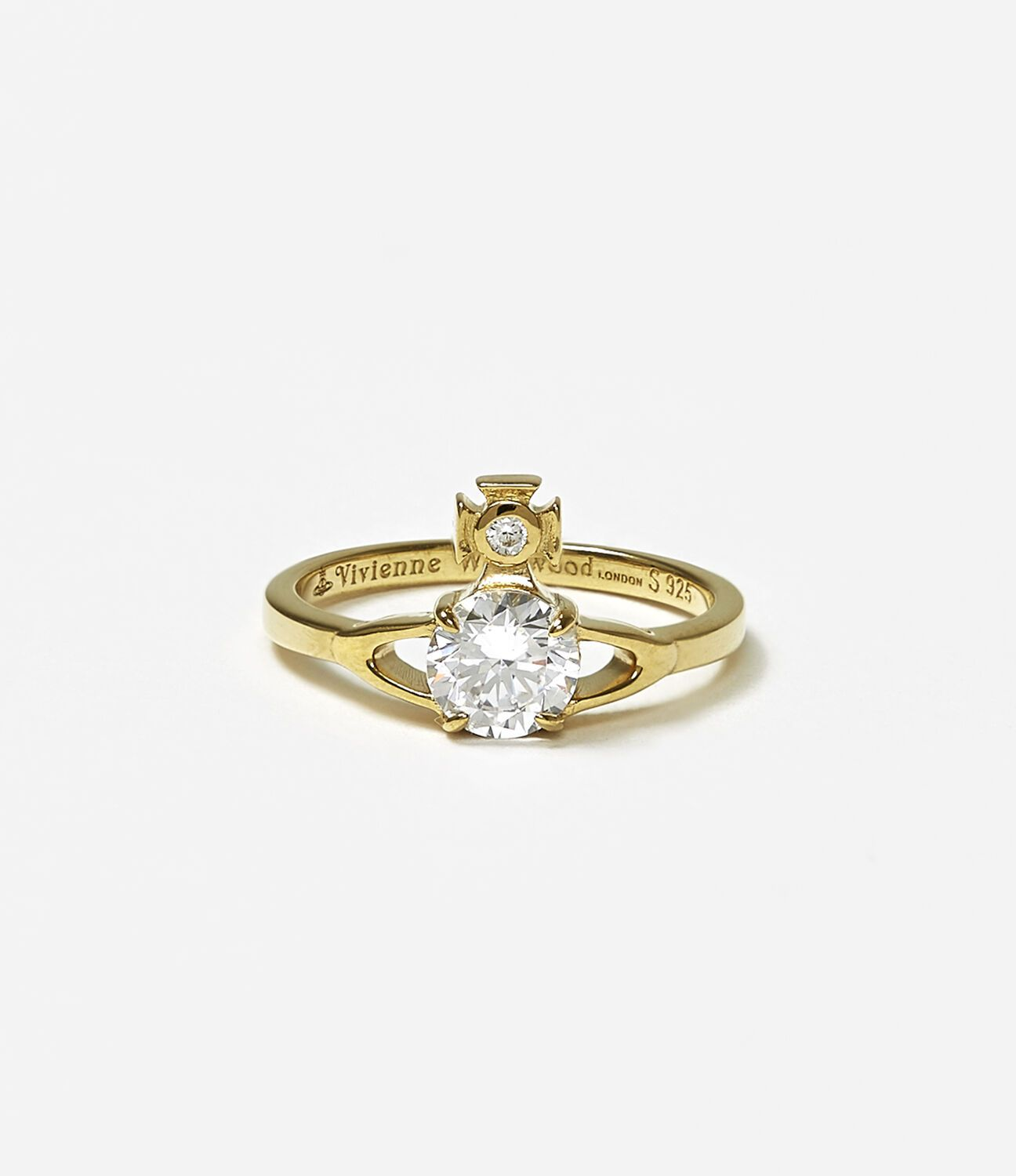 10f907fa14913 Reina petite ring in 2019 | Products | Gold rings, Gold, Rings
