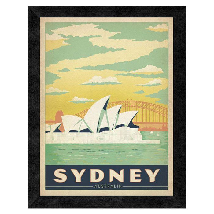 Sydney, Australia Wall Art | Vintage Posters | Pinterest | Sydney ...
