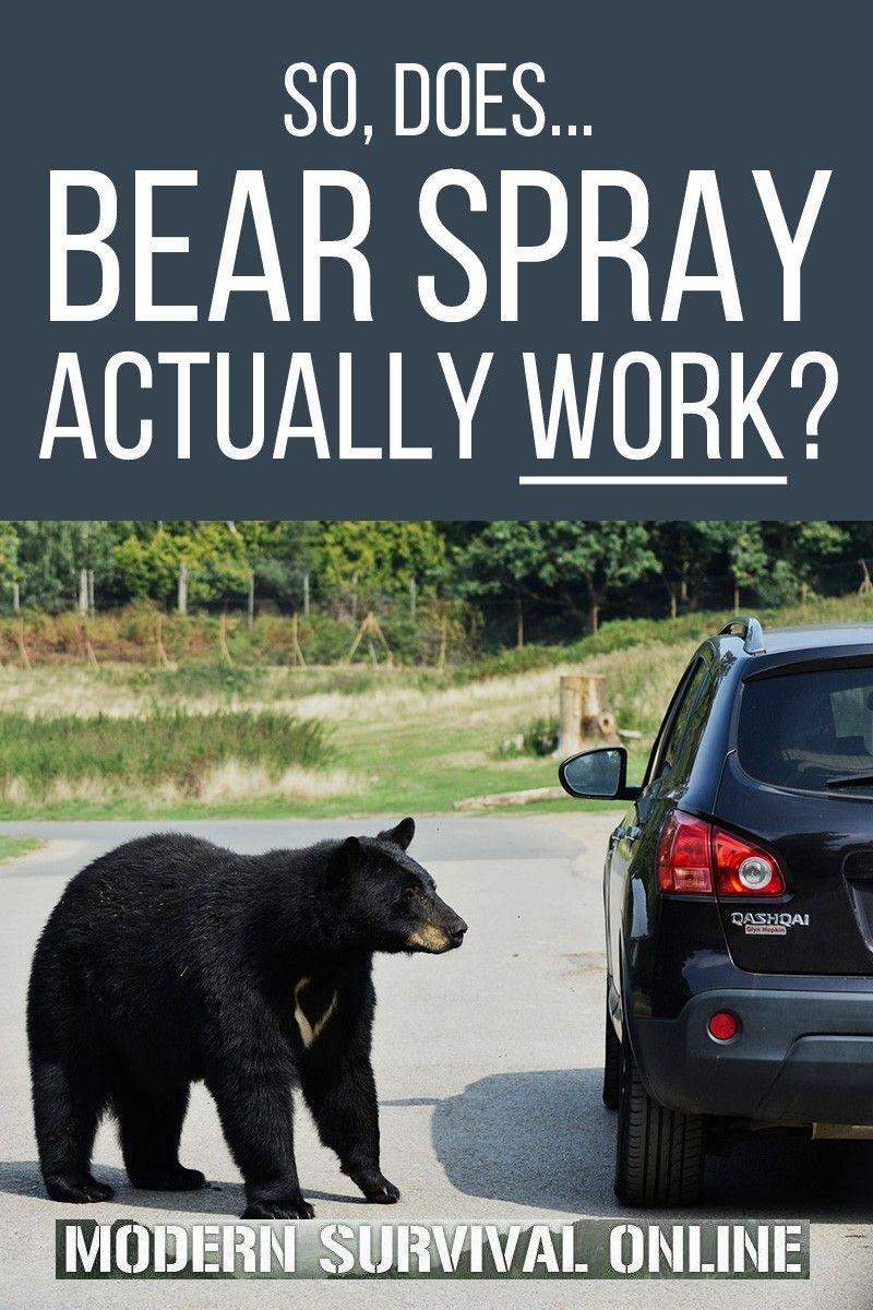 So does bear spray actually work in 2020 bear spray