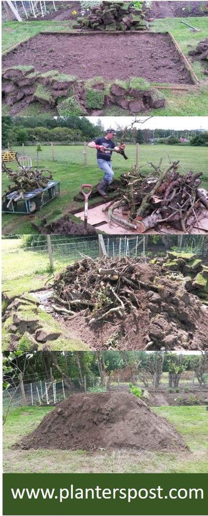 Hugelkultur - How To Build A Hugel Bed Garden #erhöhtegartenbeete