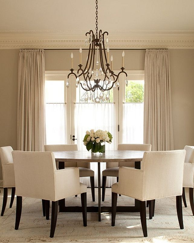 Dining Room round table Pinterest