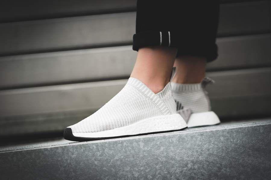 W CS2 Grey Adidas Pearl Footwear NMD Primeknit White gYbfyI76v