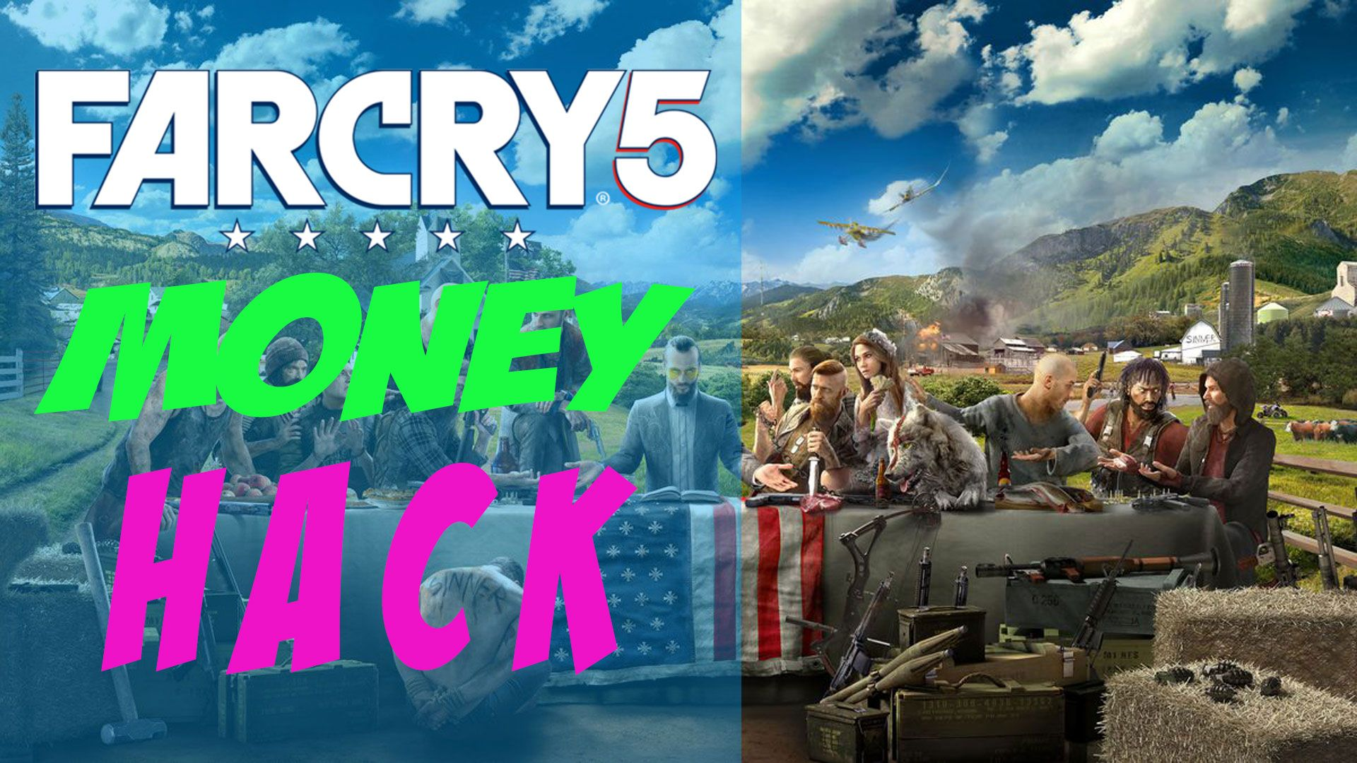Far Cry 5 Hack 2018 How To Get Unlimited Money Glitch Generator Working On Ps4 Xbox One And Pc Far Cry 5 Hacks Crying