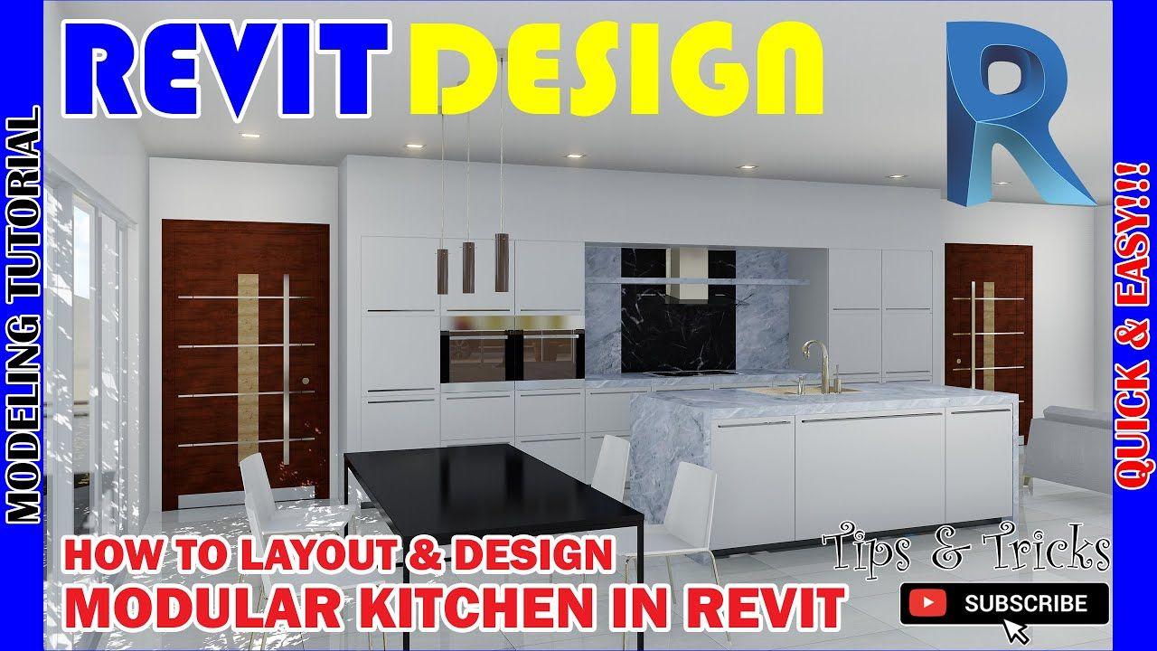 Pin By Ar Cris On Revit Design In 2020 Modern Kitchen Design Modular Kitchen Cabinets Kitchen Design