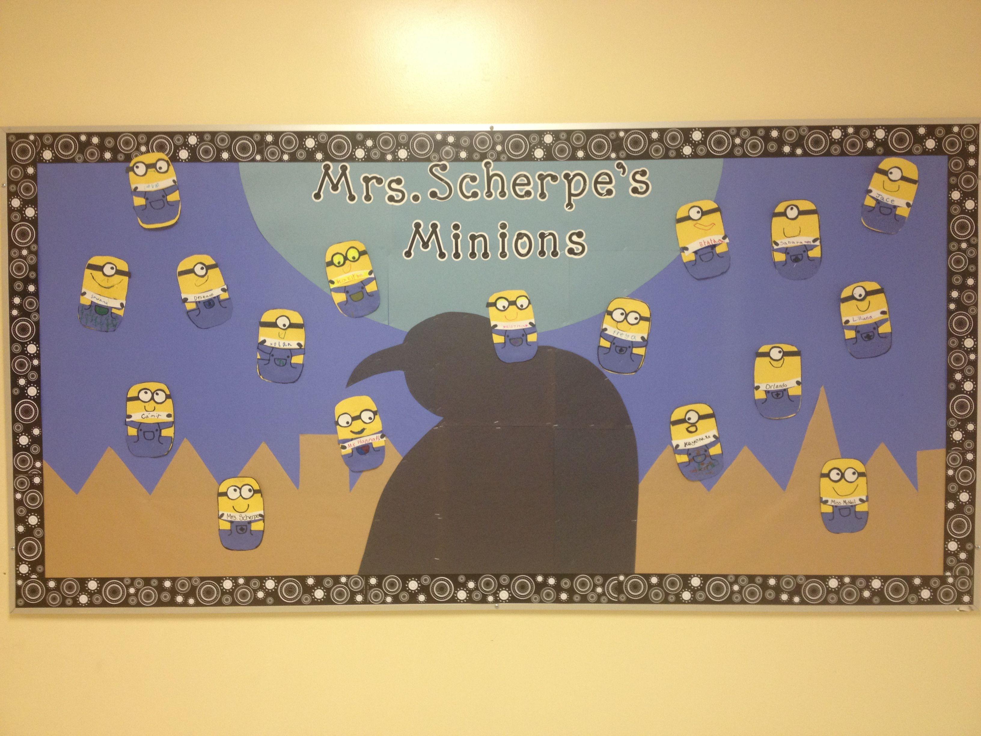 This year\'s class Bulletin board designed by Carolyn! | School ...