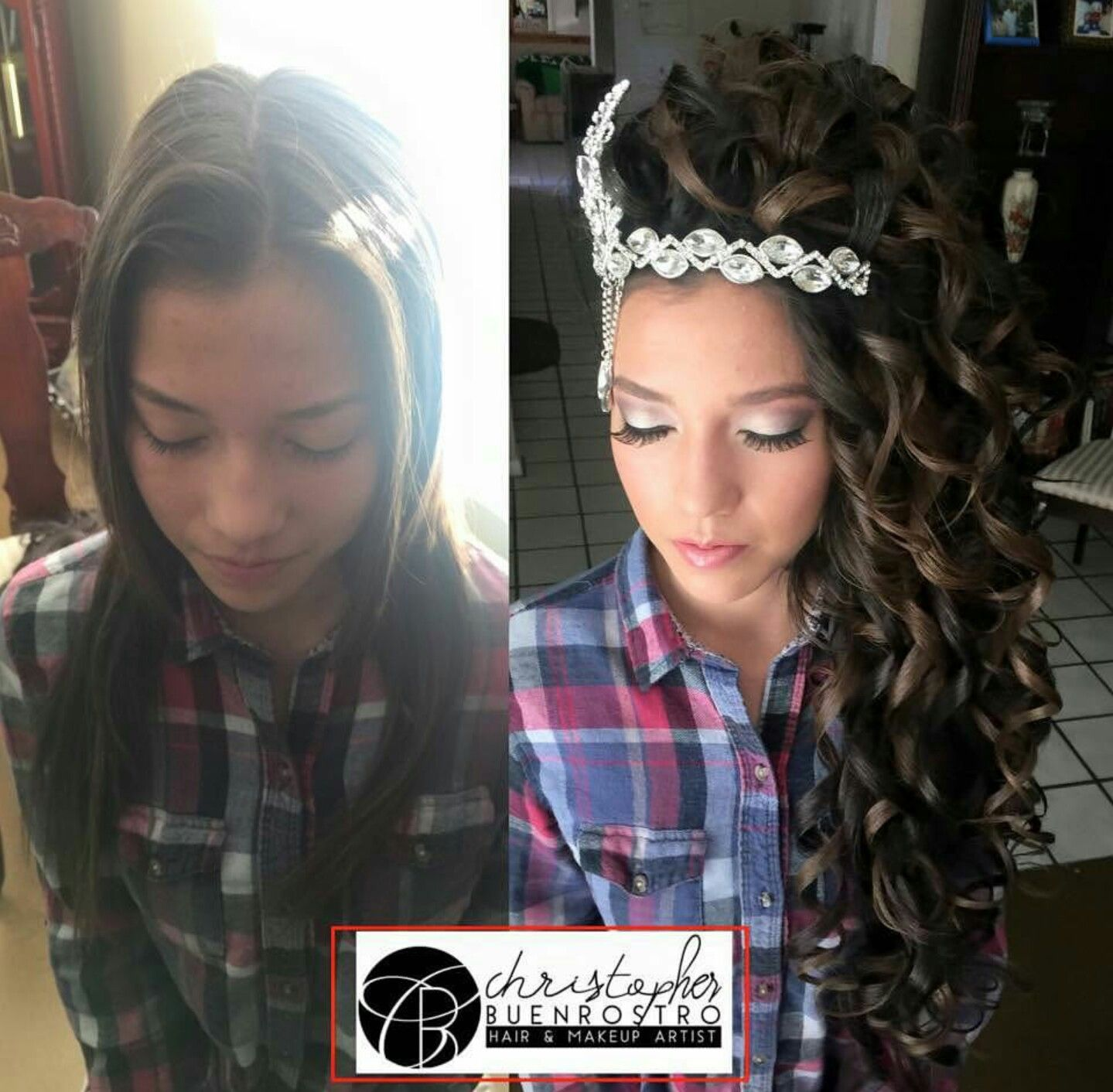 Glambychristopher Pageant Hair Quince Hairstyles Quinceanera Hairstyles