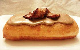 "Vegan ""Bacon"" Maple Bars"