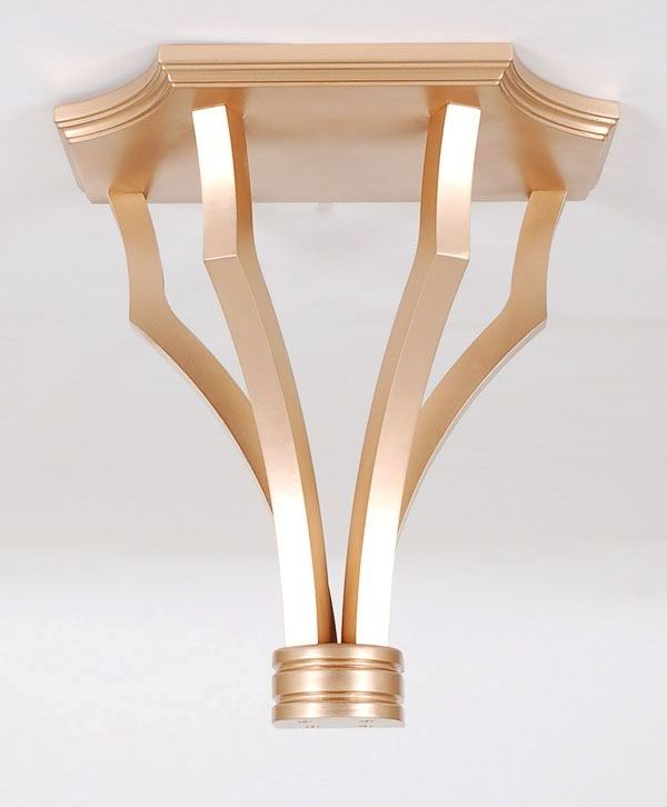 Gold Wall Bracket: Avala And Summerour Lamps