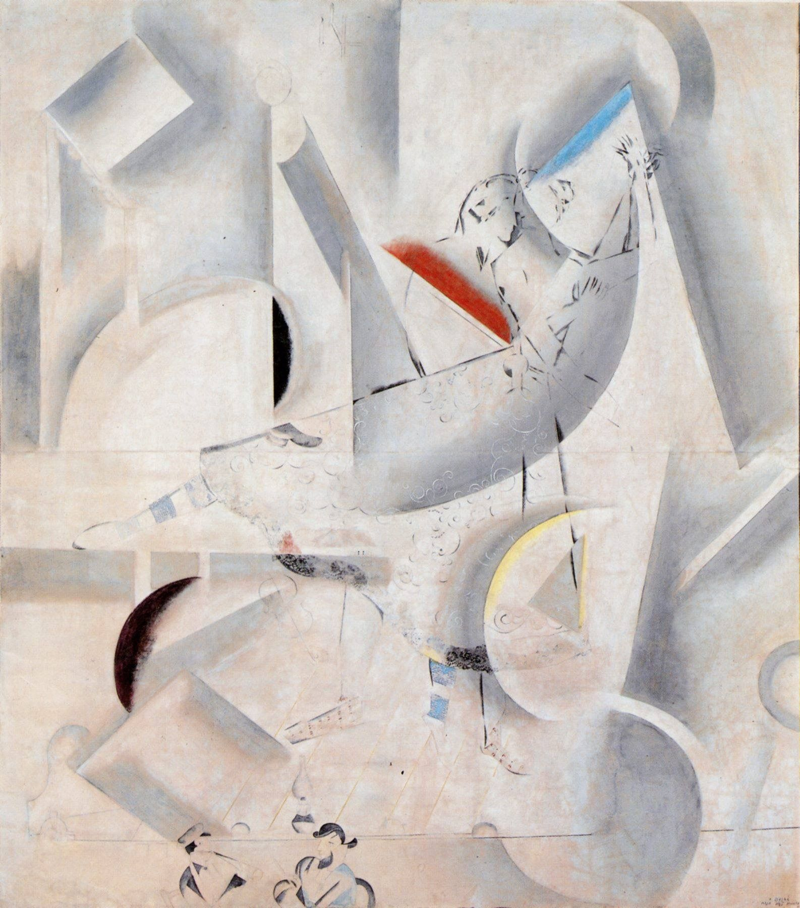 Marc Chagall - L'amour en Scène