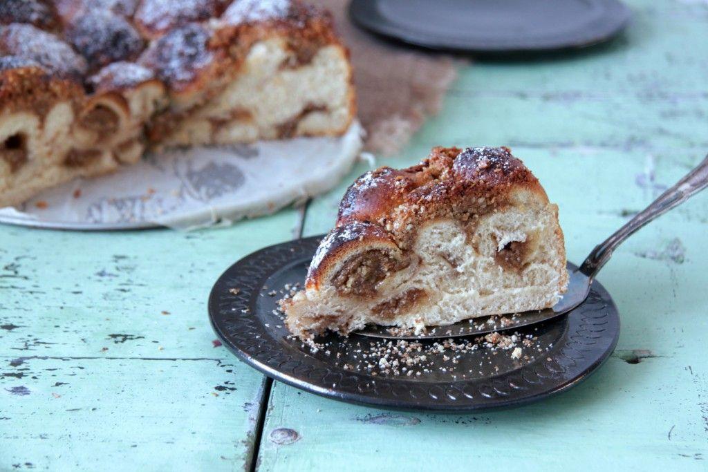 Cinnamon-tahini-nuts-bread :-)