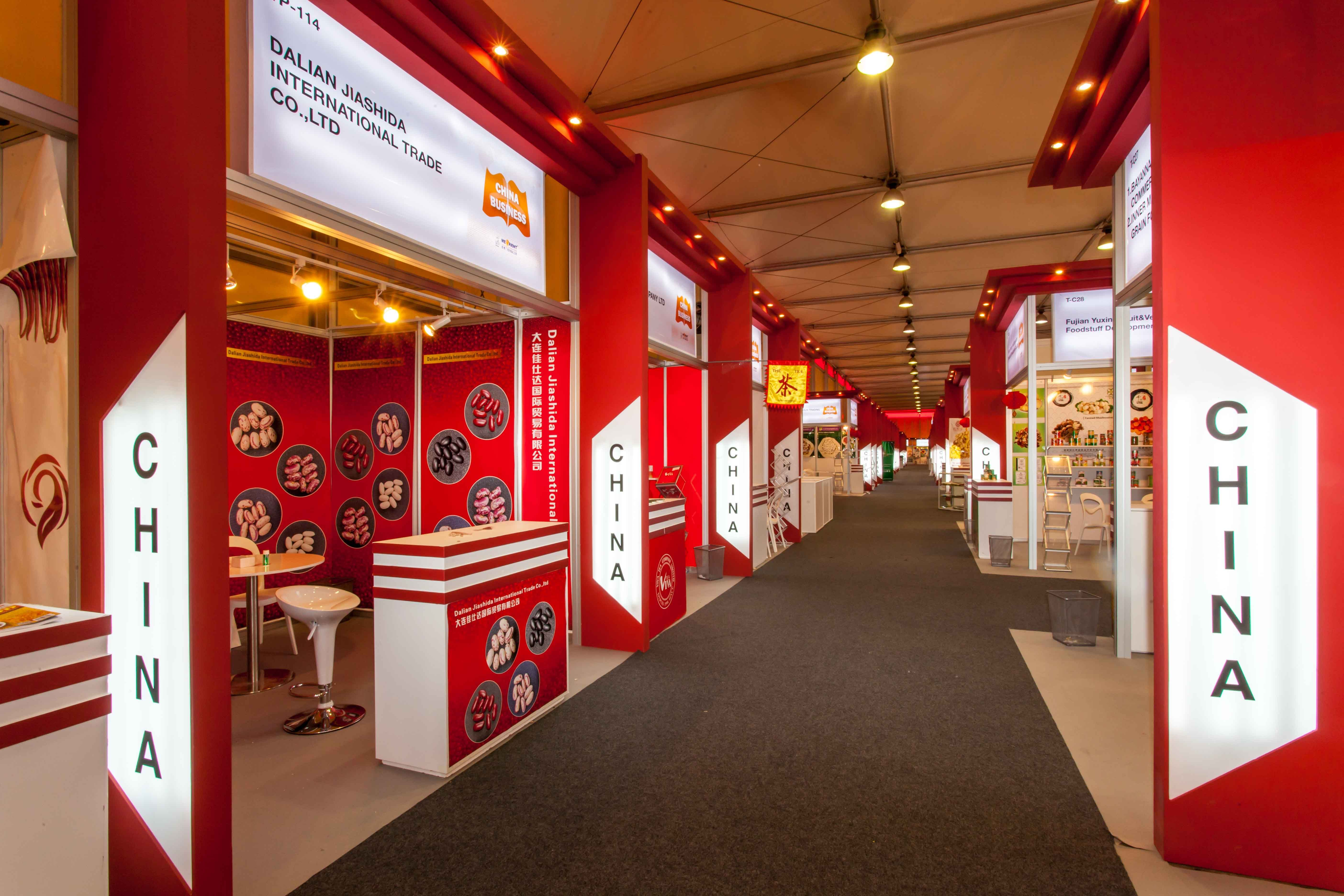 Exhibition Stand Builders China : China exhibition stand gulfood dubai middleeast
