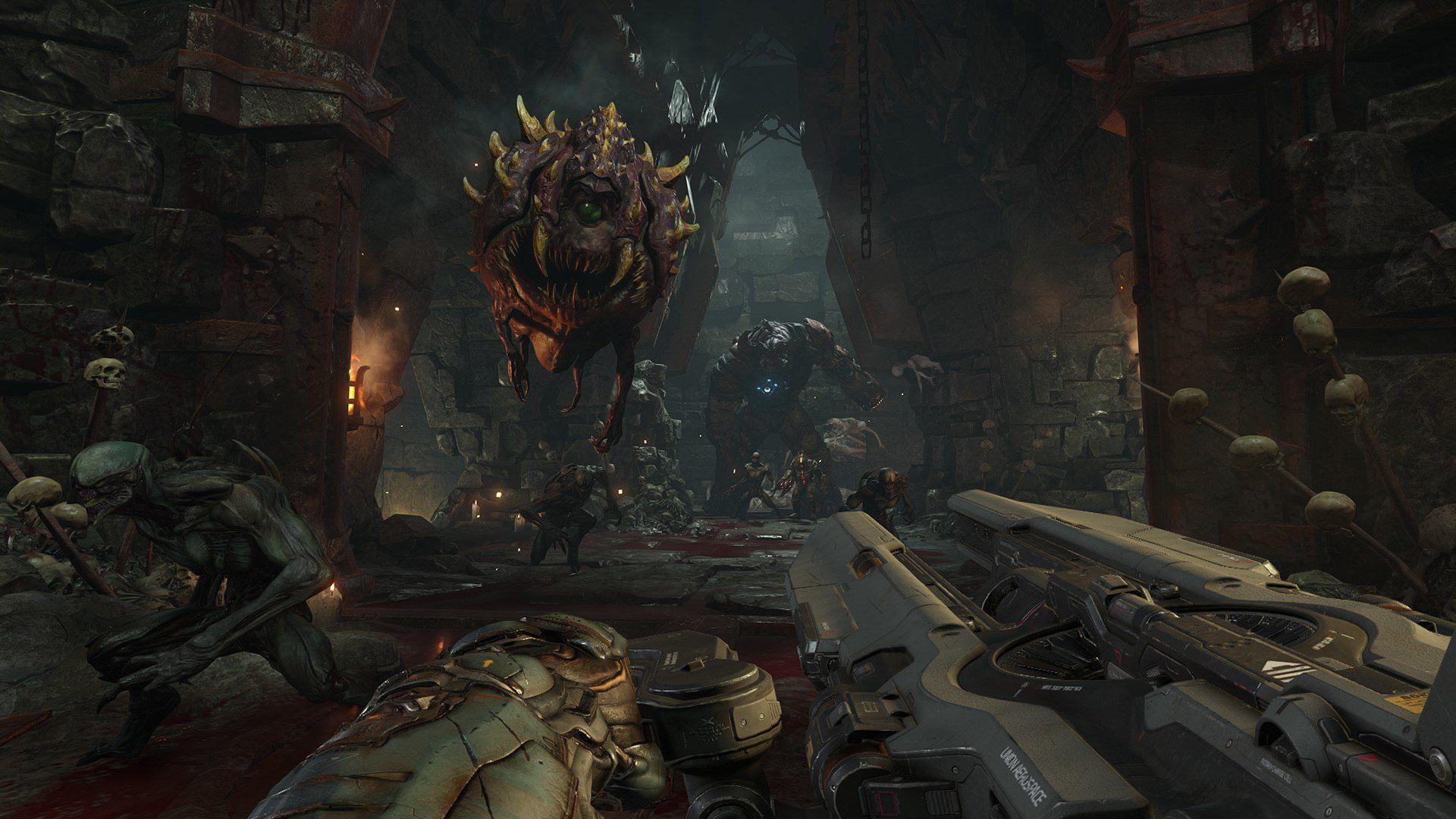 Doom Closed Alpha Pc System Requirements Doom Doom 4 Doom Game
