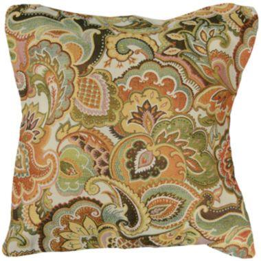 Josetta Jacquard Decorative Pillow Pillows And House Simple M Kennedy Home Grand Paisley Decorative Pillow