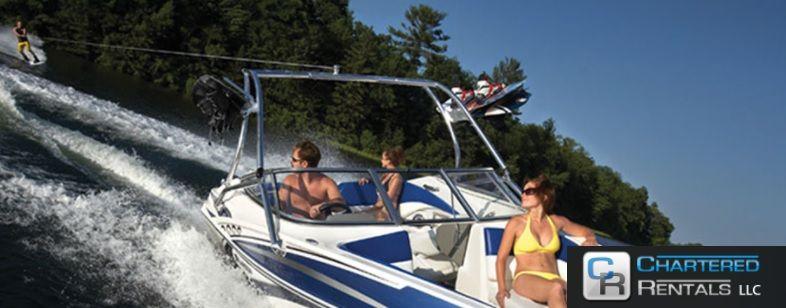 Minnesota ski boats rental chartered rentals ski boats