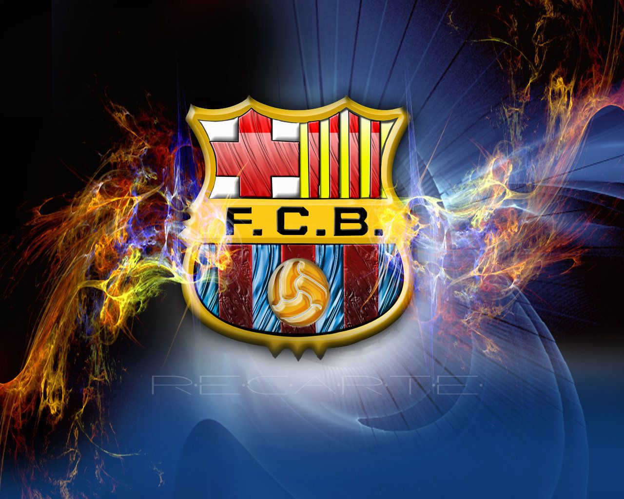 Barcelona In The Champions League Final Football Wallpaper