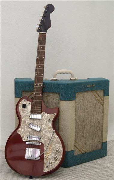 Watkins Guitar Rapier De Luxe Series 1 1958-59