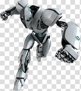 White And Green Ai Robot Cyborg Running Transparent Background Png Clipart Transparent Background Robot Robot Png